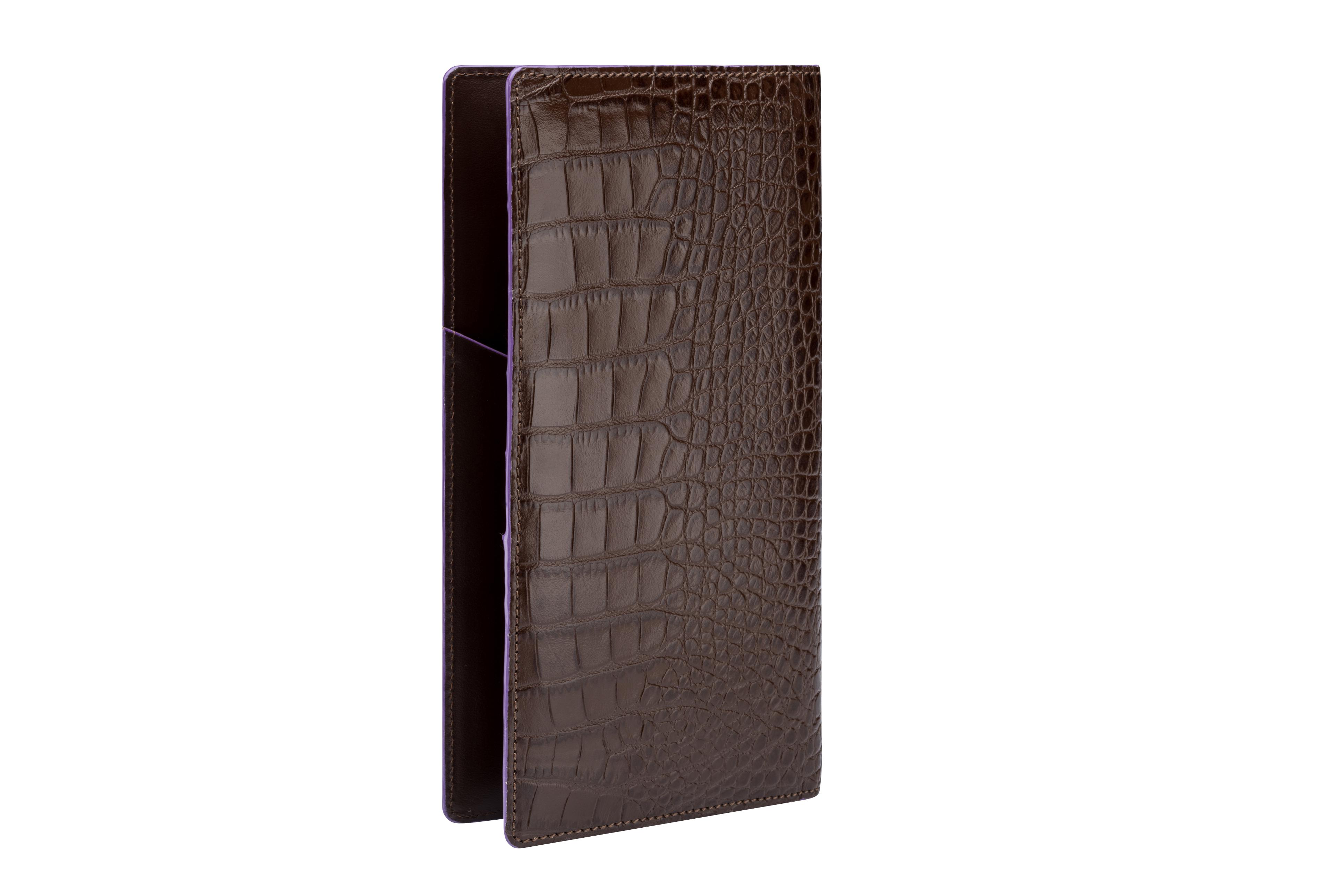 Vanderbilt NY Unisex Lange Brieftasche Braun Leder Geldbörse Geldbörse Geldbörse Portemonnaie | Sale Outlet  27af55